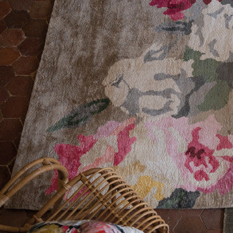 Designers Guild Octavia Painterly Floral Rug