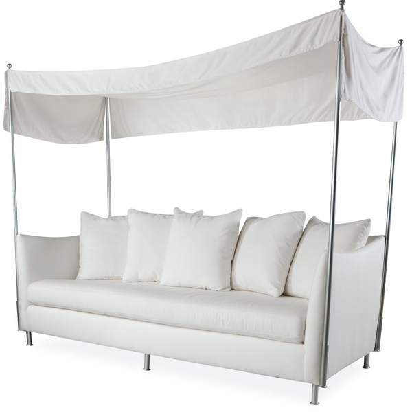 Lee Industries U101-03 Oleander Outdoor Sofa with Canopy-Upholstery-Lee Industries-Grade D-Putti Fine Furnishings