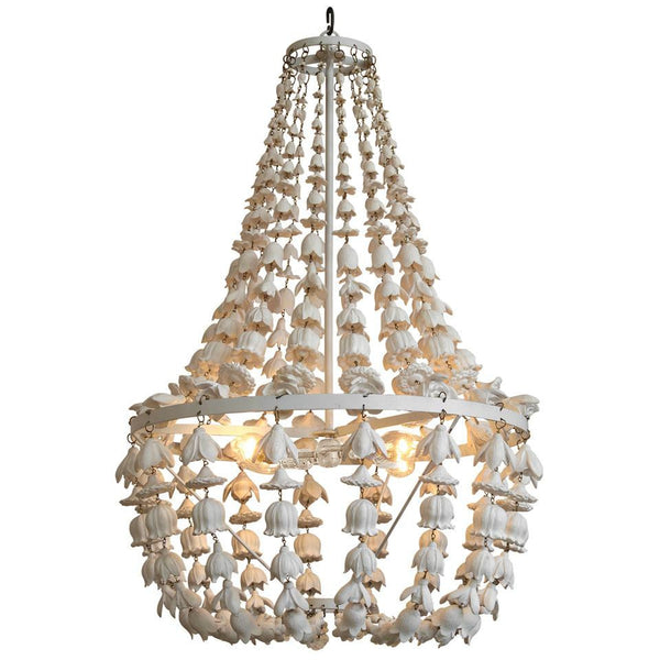 Oly Flower Drop Chandelier-Ceiling Fixture-OS-Oly Studio-Putti Fine Furnishings