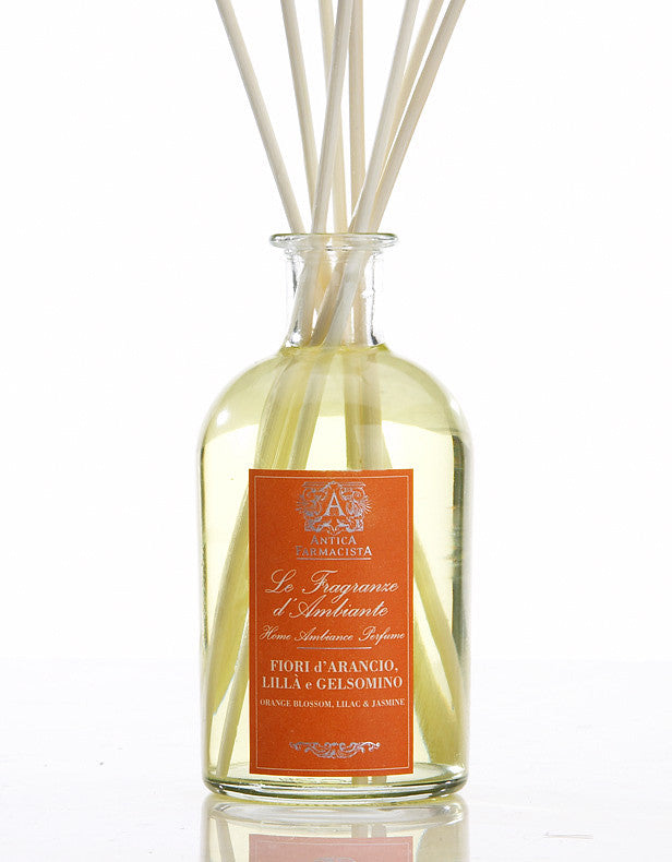 Antica Farmacista Orange Blossom, Lilac & Jasmine Diffuser, AF-Antica Farmacista, Putti Fine Furnishings