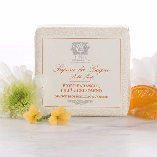 Antica Farmacista Orange Blossom Lilac & Jasmine Bar Soap