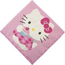 Hello Kitty Napkins  -25%, MM-Meri Meri UK, Putti Fine Furnishings