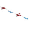 """Flying High"" Vintage Aeroplane - Bunting -  Party Supplies - Ginger Ray UK - Putti Fine Furnishings Toronto Canada - 1"