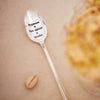 """Pyjamas - Ice Cream - Movies"" Vintage Long Handled Spoon -  Flatware - La De Da Living - Putti Fine Furnishings Toronto Canada - 1"