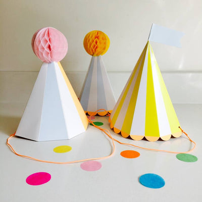 Meri Meri Silly Circus - Party Hats