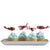 """Flying High"" Vintage Aeroplane - Cupcake Picks, GR-Ginger Ray UK, Putti Fine Furnishings"