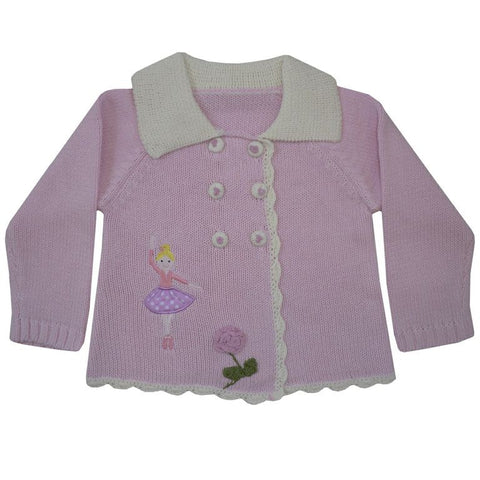 Ballerina Pram Coat - 0 to 6 months  (special order 2 weeks) Children's Clothing - Powell Craft Uk - Putti Fine Furnishings Toronto Canada