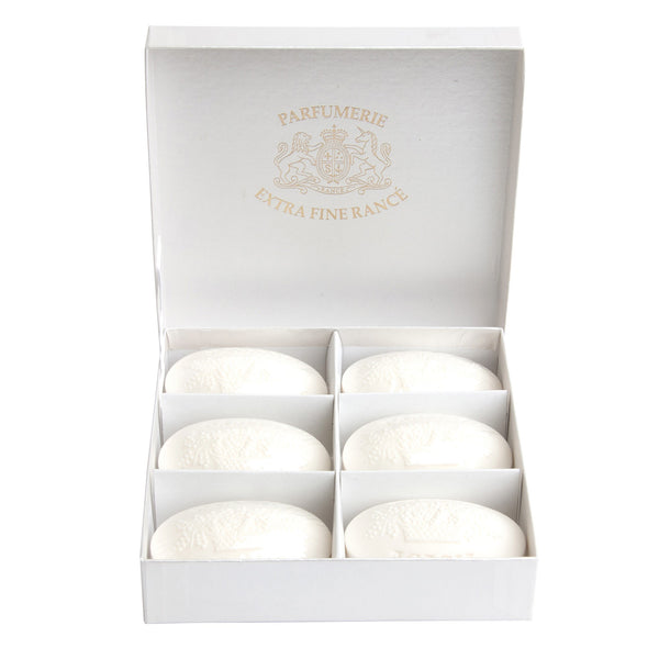"Rance ""The Pretty"" Soap - Acacia Bianca-Personal Fragrance-RAN-Rance-Gift box - 6 75gr Soaps-Putti Fine Furnishings"