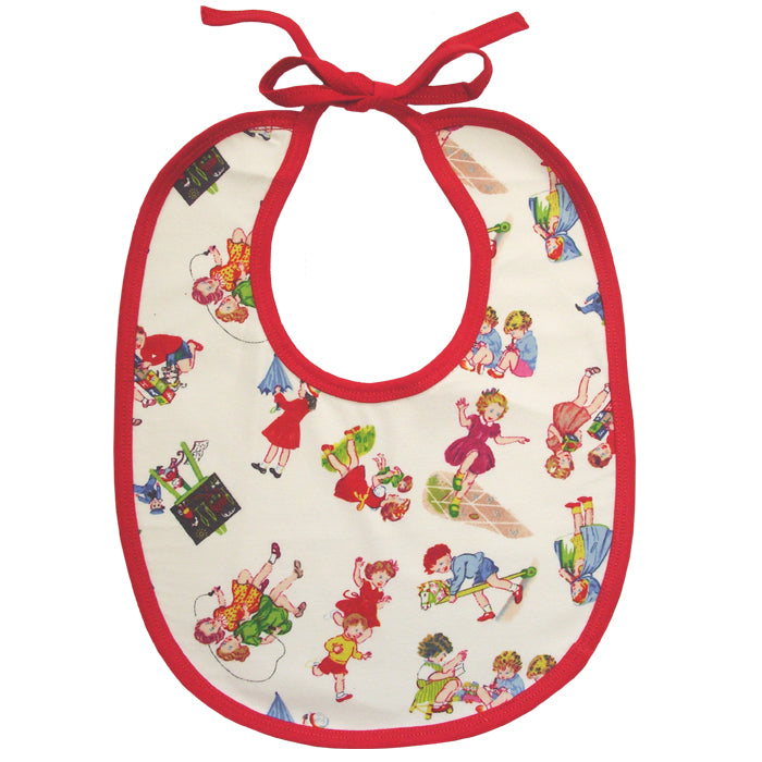 Girls at Play Bib