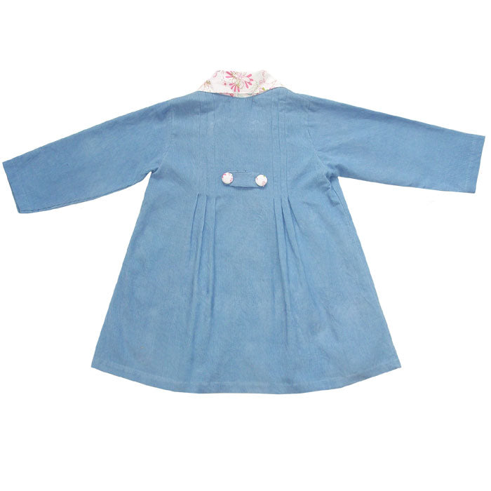 Blue Bird Cord Coat