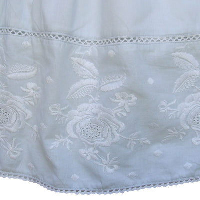 """Pearl"" Blue Embroidered Dress"