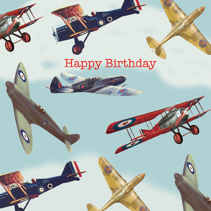 "Playtime ""Airplane"" Birthday Card"