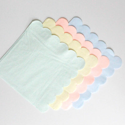 Meri Meri Pastel - Large Paper Napkins -  Party Supplies - Meri Meri UK - Putti Fine Furnishings Toronto Canada - 6