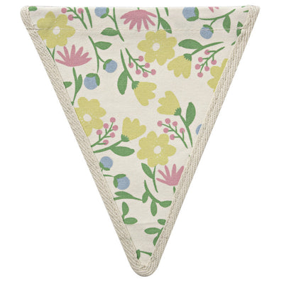 Meri Meri Alphabet Bunting - Floral Pattern, MM-Meri Meri UK, Putti Fine Furnishings