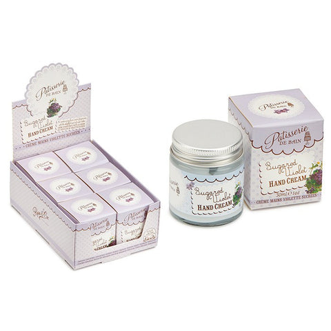 """Patisseries de Bain"" Sugared Violet Hand Cream-Bath Products-Rose & Co-Putti Fine Furnishings"