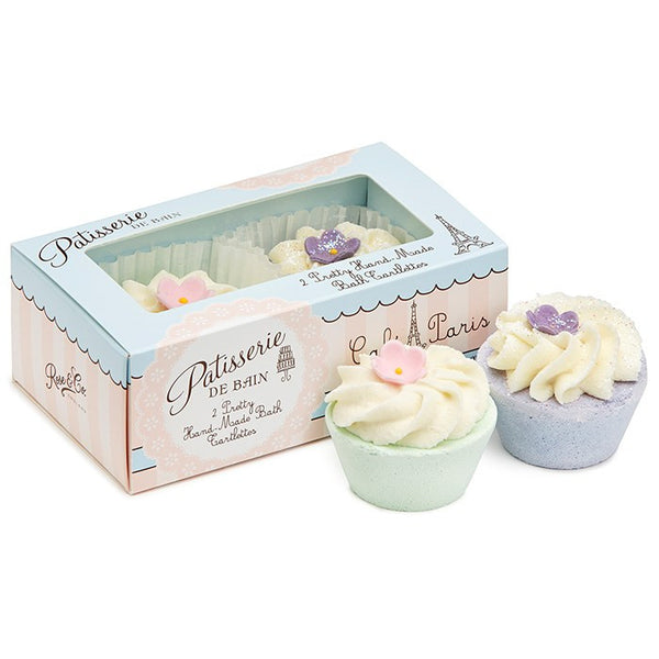 """Patisseries de Bain"" Cafe Paris Tartlettes-Bath Products-Rose & Co-Putti Fine Furnishings"
