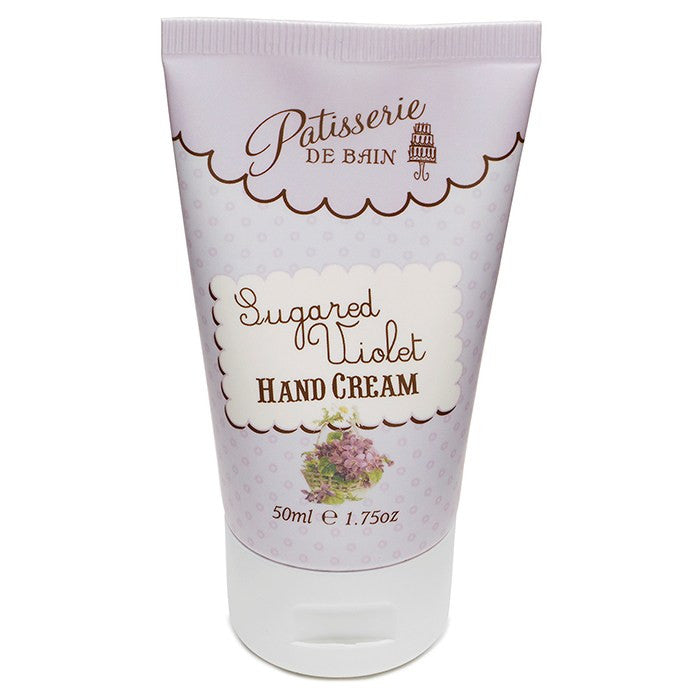 """Patisserie de Bain"" Hand Cream Tube Sugared Violet, Rose & Co, Putti Fine Furnishings"