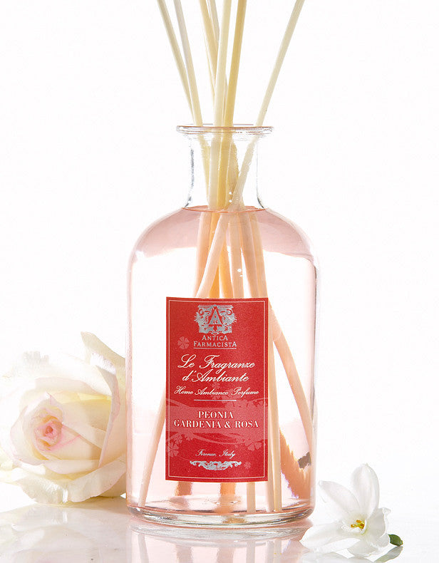Antica Farmacista Peony, Gardenia & Rose Diffuser, AF-Antica Farmacista, Putti Fine Furnishings