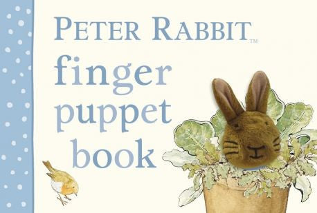 Peter Rabbit Finger Puppet Book, EG-Estelle Gifts, Putti Fine Furnishings