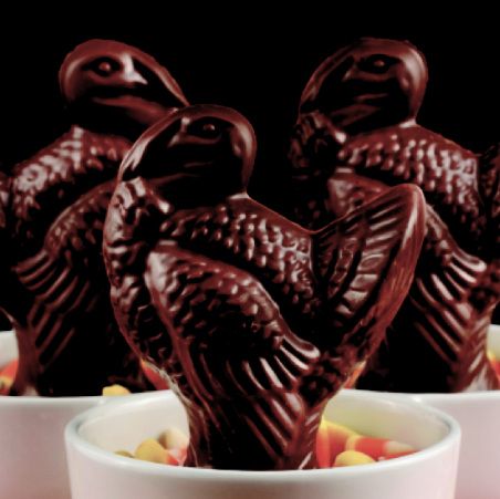 Chocolate Turkey Table Favour