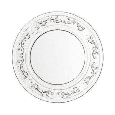 La Rocher Versailles Charger Plate-Glassware-PG-Premier Gift -La Rochere-Putti Fine Furnishings