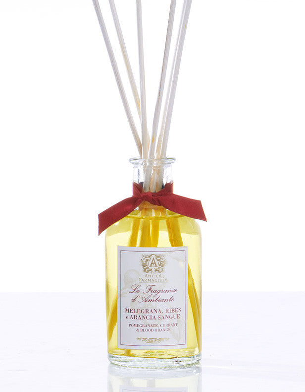 Antica Farmacista Pomegranate, Currant & Blood Orange Diffuser-Home Fragrance-AF-Antica Farmacista-100ml Pomegranate, Currant & Blood Orange Diffuser - Special Order 2 weeks-Putti Fine Furnishings