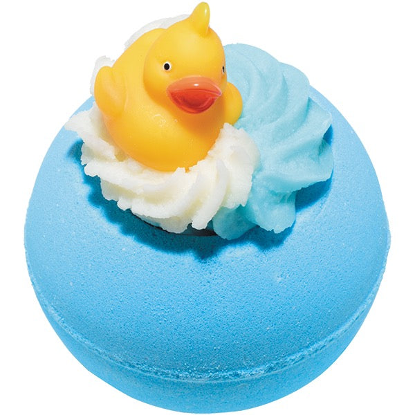 Bomb Cosmetics UK Pink Pool Party Rubber Duck Bath Blaster Putti Canada