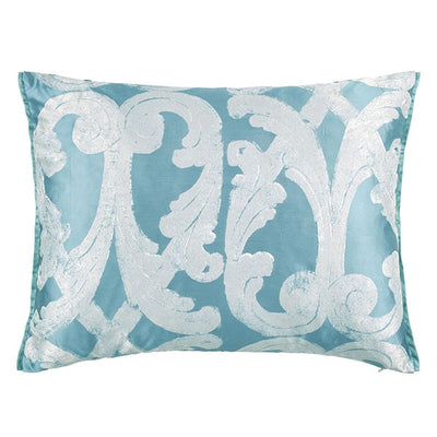 Designers Guild Portico Aqua Throw Pillow, DG-Designers Guild, Putti Fine Furnishings