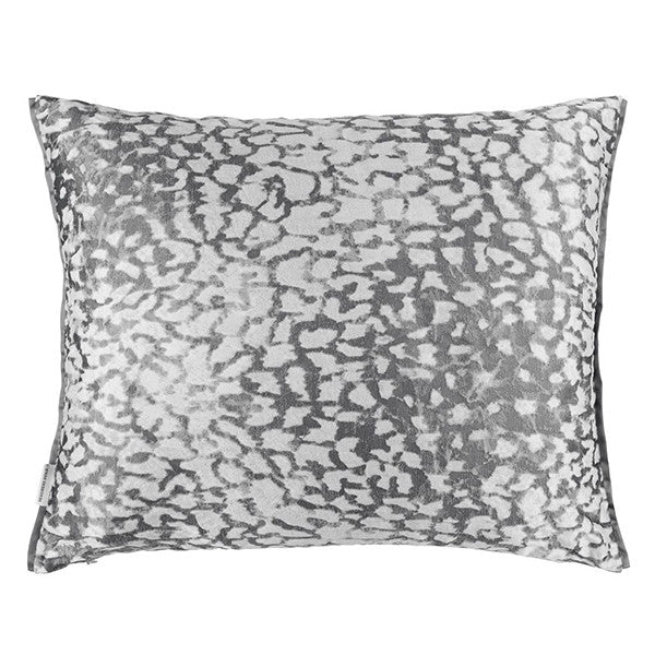 Designers Guild Portico Graphite Throw Pillow