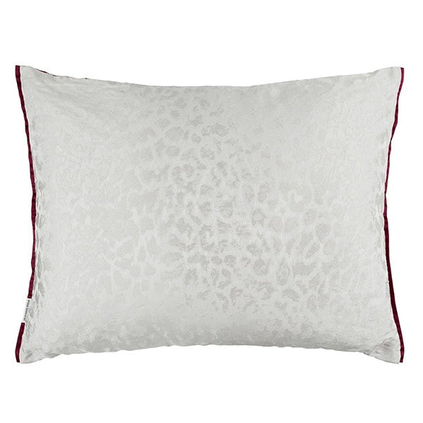Designers Guild Portico Magenta Throw Pillow
