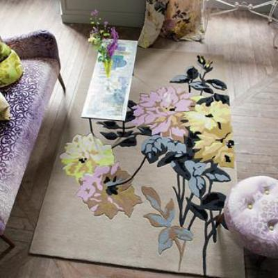 Designers Guild Portier Ecru Area Rug, DG-Designers Guild, Putti Fine Furnishings