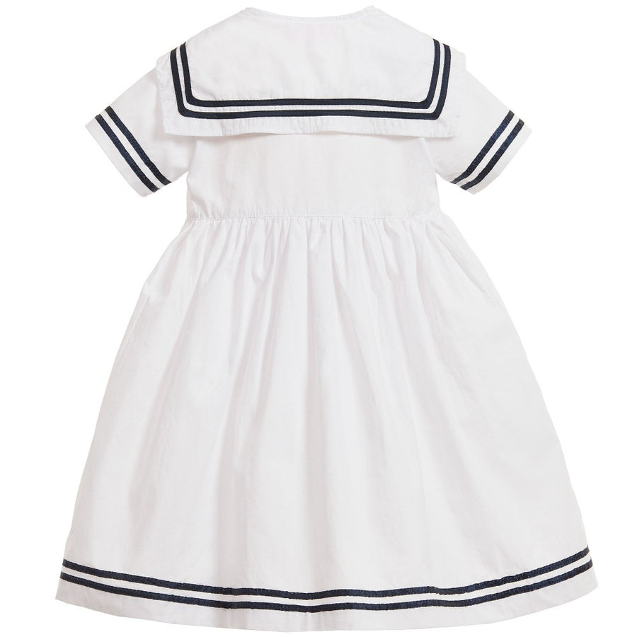 """Emma"" Navy Blue Sailor Dress"