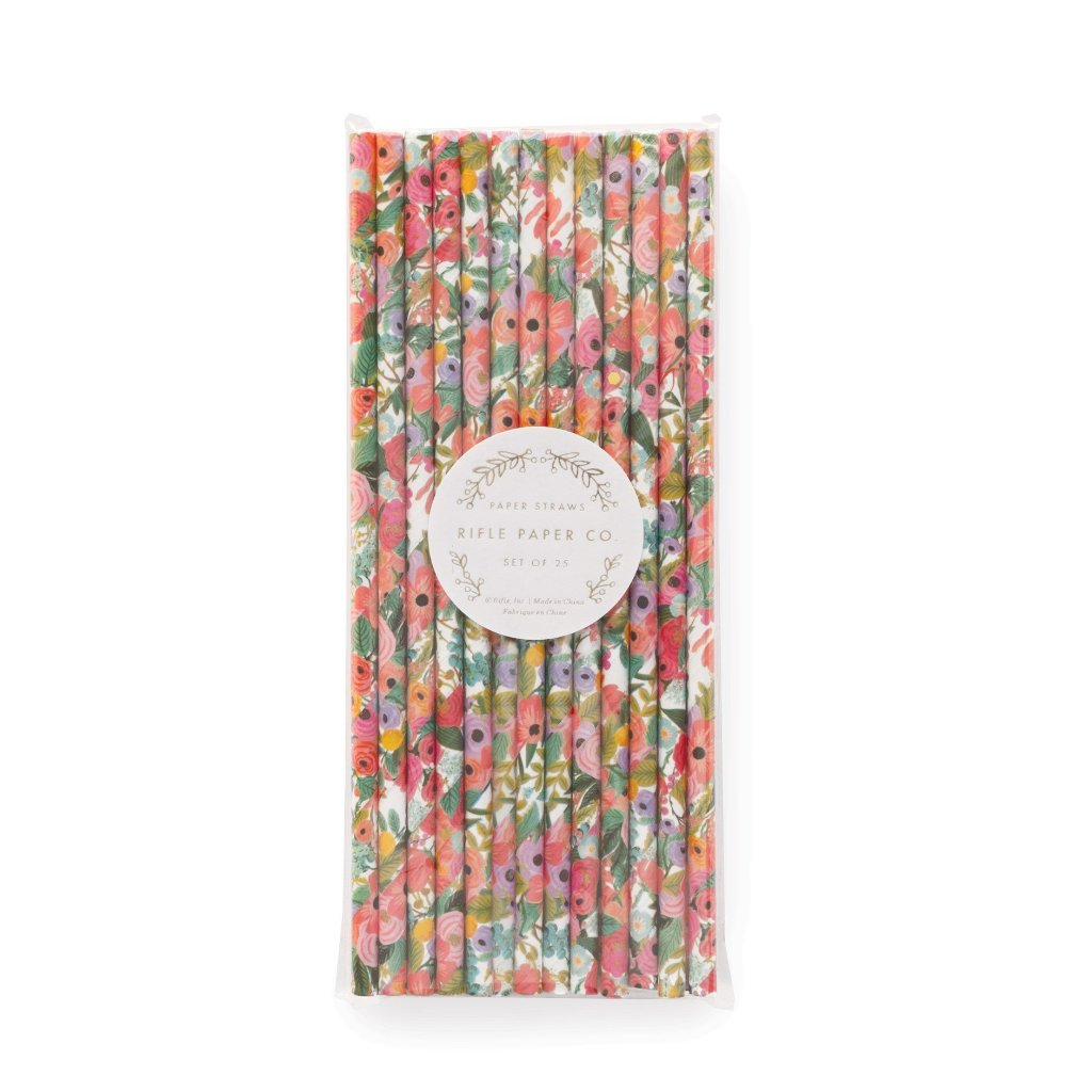 Rifle Paper Co. Garden Party Paper Straws