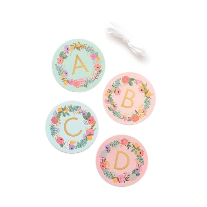 Rifle Paper Co Garden Party Letter Garland | Le Petite Putti