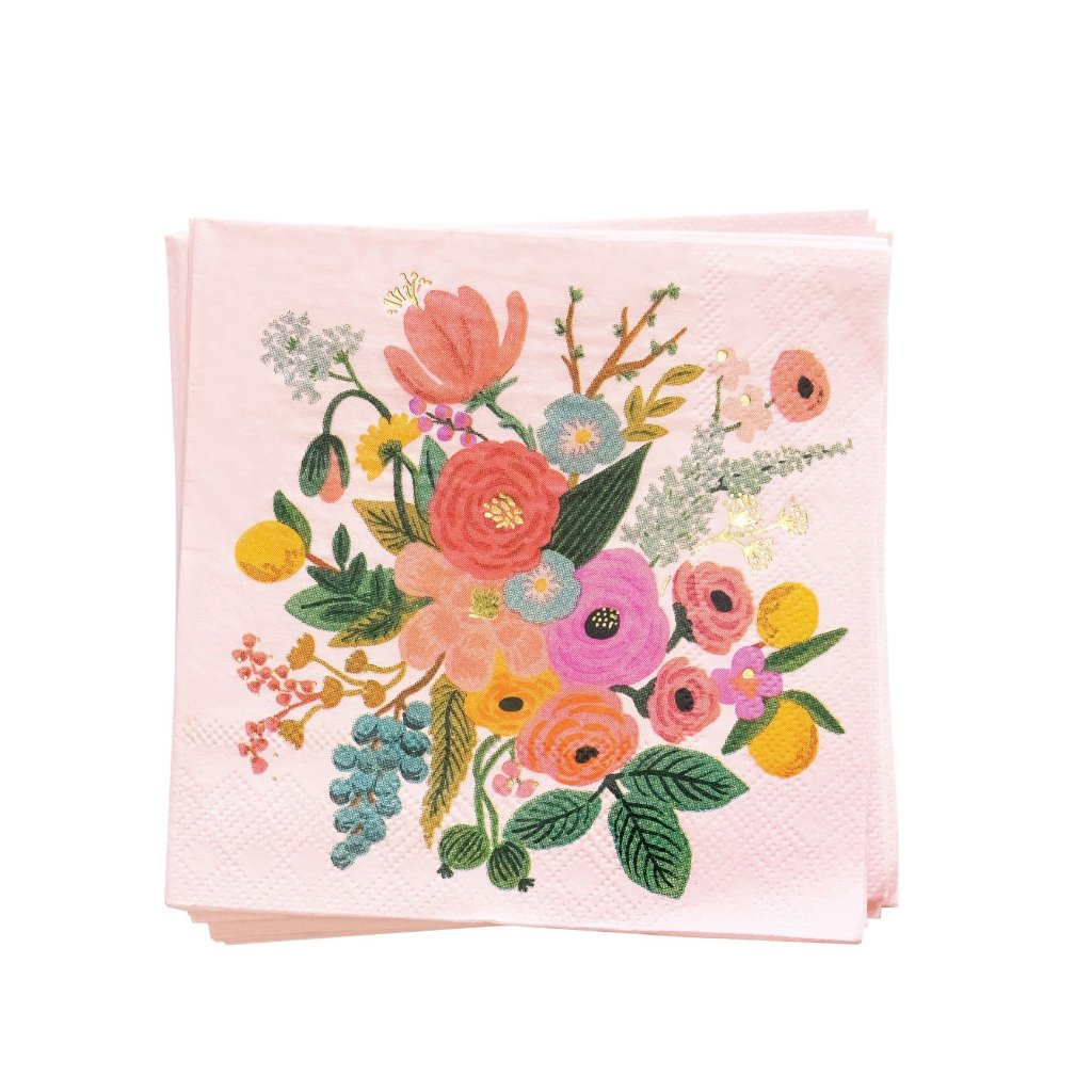 Rifle Paper Co. Garden Party Paper Cocktail Napkins | Le Petite