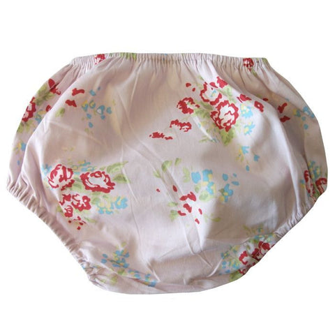 Pink Mixed Floral Frilly Knickers-Frilly Knickers-PC-Powell Craft Uk-Putti Fine Furnishings