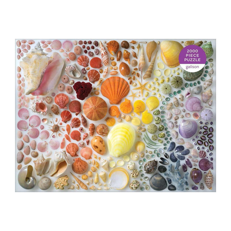 Gallison Rainbow Shells Puzzle 2000pcs