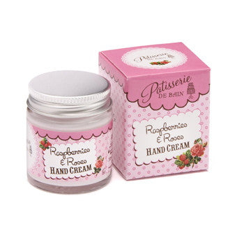 """Patisseries de Bain"" Raspberries & Roses Hand Cream, Rose & Co, Putti Fine Furnishings"