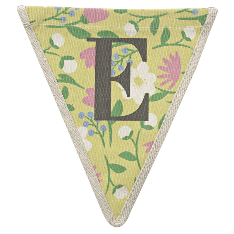 Meri Meri Alphabet Bunting - Letter E, MM-Meri Meri UK, Putti Fine Furnishings