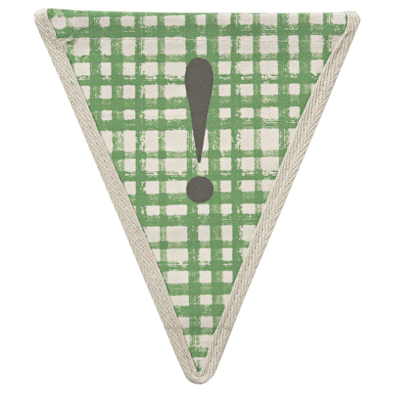 Meri Meri Alphabet Bunting - Exclamation Point!, MM-Meri Meri UK, Putti Fine Furnishings
