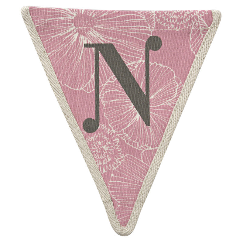 Meri Meri Alphabet Bunting - Letter N, MM-Meri Meri UK, Putti Fine Furnishings