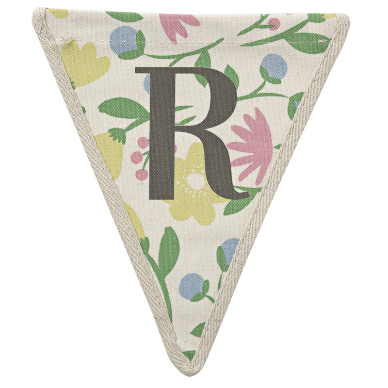 Meri Meri Alphabet Bunting - Letter R, MM-Meri Meri UK, Putti Fine Furnishings