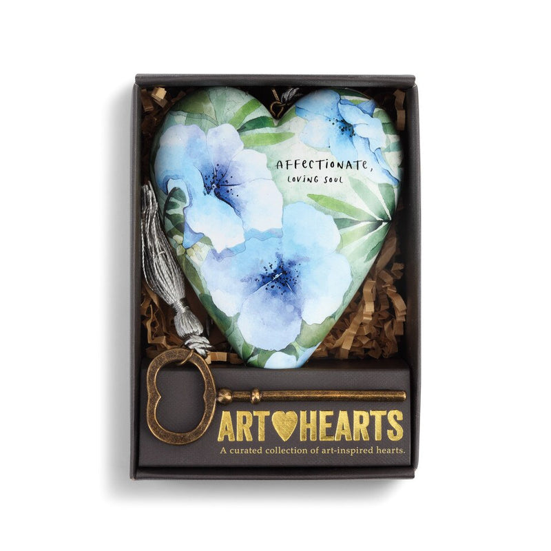 "Demdaco ""September"" Morning Glory Birth Flower Art Heart 