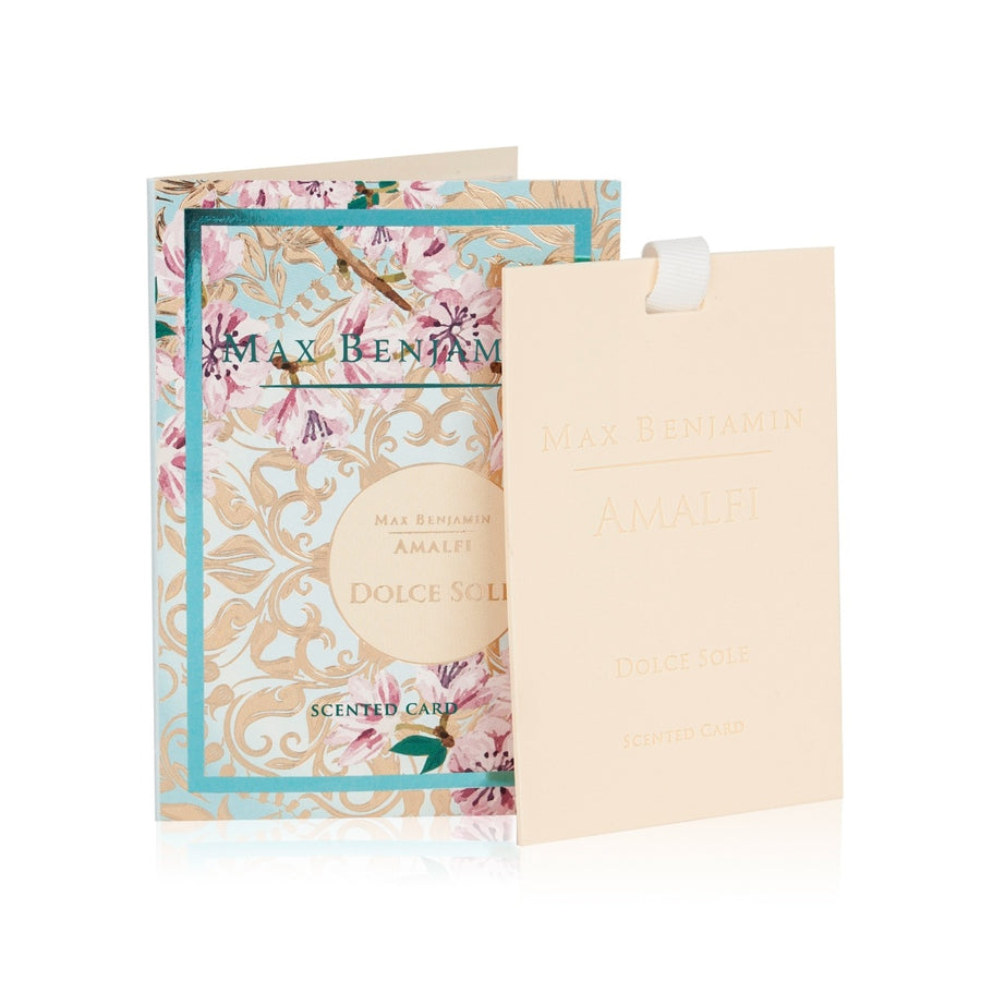Max Benjamin Amalfi Scented Card - Dolce Sole