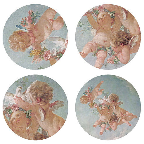 Boho & Co Cherub Coasters set of four