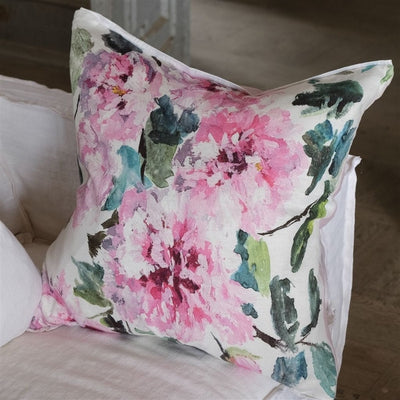 Designers Guild Shanghai Garden Peony Pillow, DG-Designers Guild, Putti Fine Furnishings