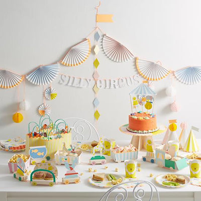 Meri Meri Silly Circus - Cake Topper -  Party Supplies - Meri Meri UK - Putti Fine Furnishings Toronto Canada - 5