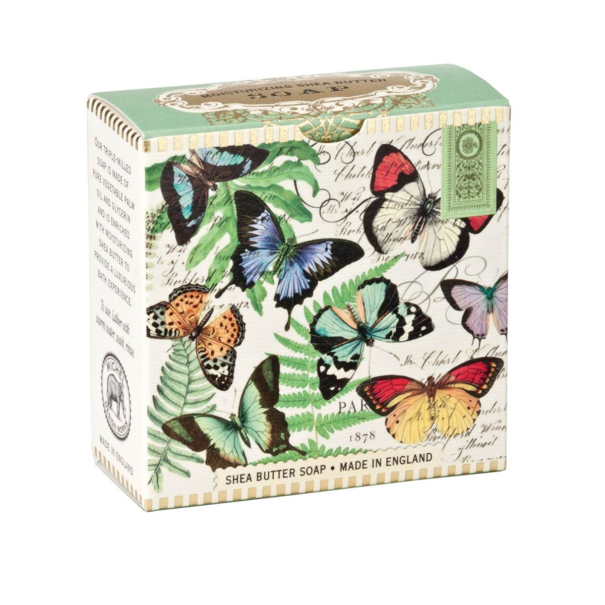 Michel Design Works A Little Soap - Butterflies
