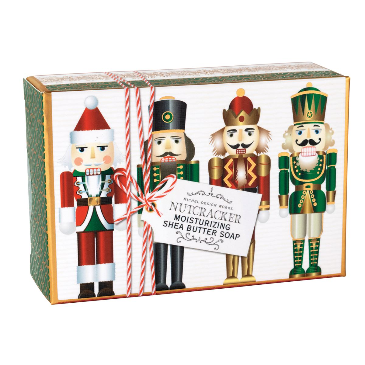 Michel Design Nutcracker Single Boxed Soap | Putti Christmas Canada