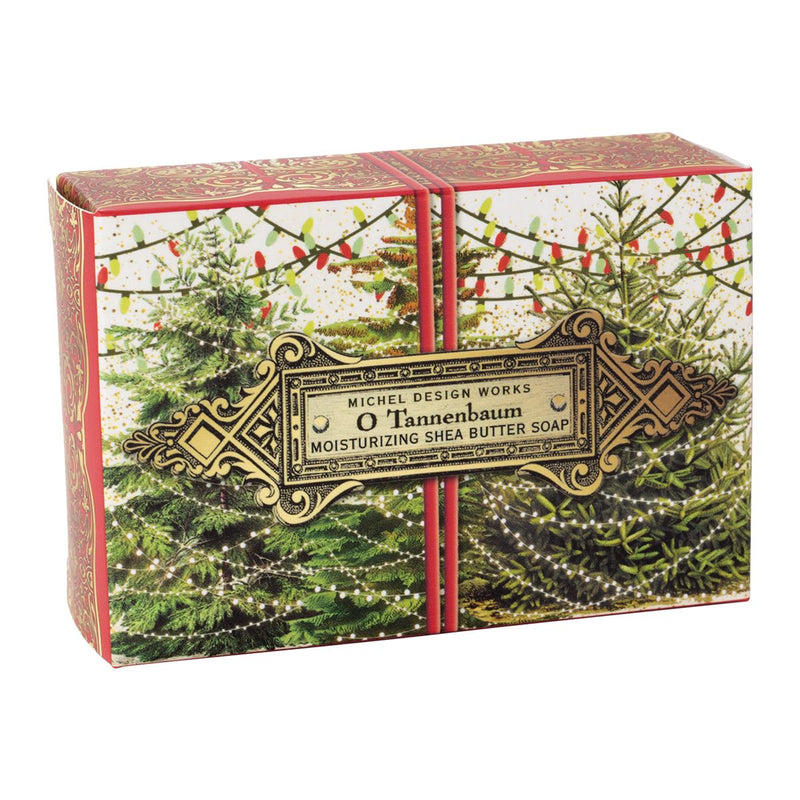 Michel Design Works O Tannenbaum Single Boxed Soap | Putti Christmas